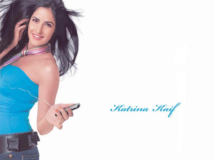 Katrina Kaif Mobile Ad Wallpaper