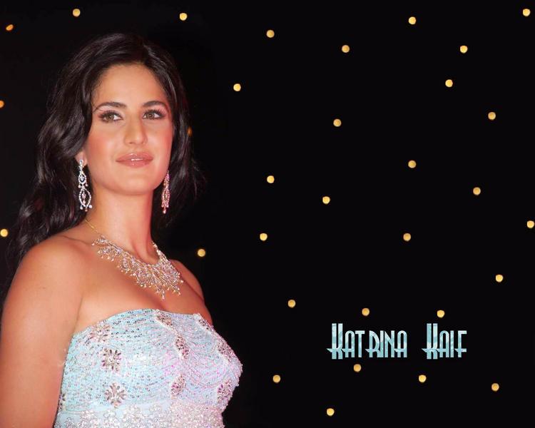 Katrina Kaif Shiny Attractive Look Wallpaper