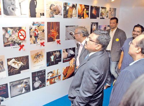 Arup Patnaik Checks Out An Exhibition on Anti-Smoking