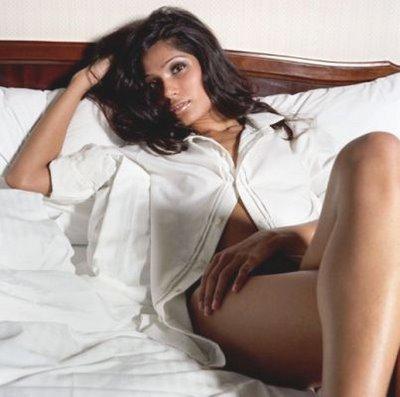 Freida Pinto Deadly Pose Photo Shoot