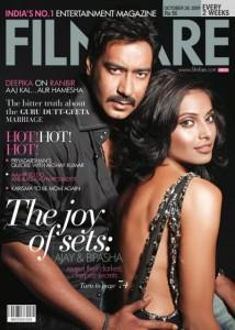 Bipasha Basu and Ajay Cover Film Face Magazine