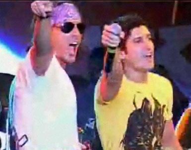 Arjun Rampal and Farhan Rocking Still