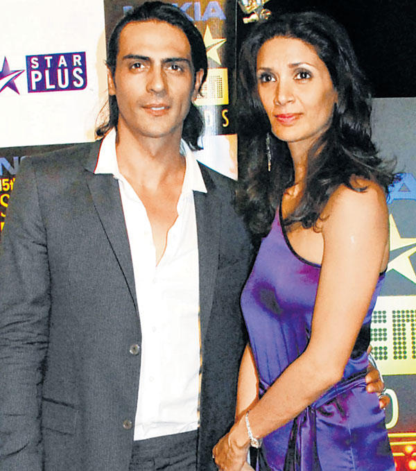 Arjun Rampal and Wife Meher Latest Pic
