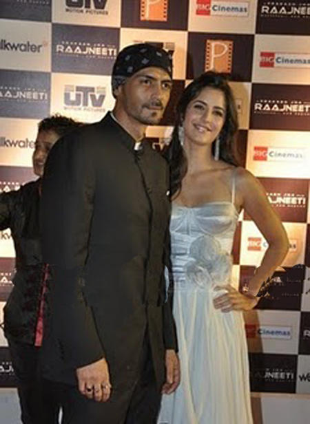 Arjun Rampal  Latest Pic With Katrina