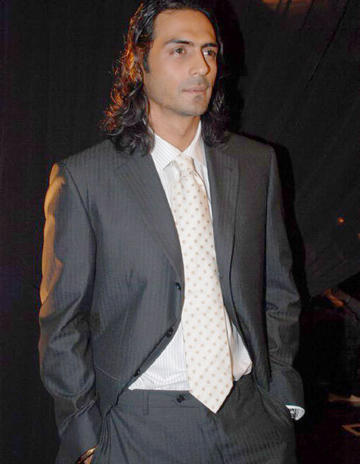Arjun Rampal Long Hair Stylist Photo in Blazer
