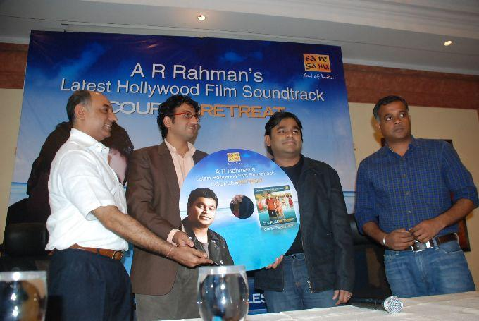 A R Rahman Couples Retreat Audio Launch Pic