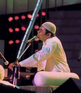 A R Rahman Performance Still