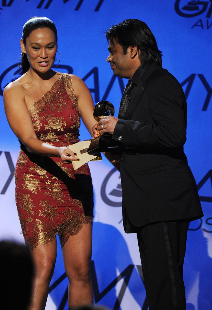 A R Rahman Receive Grammy Award