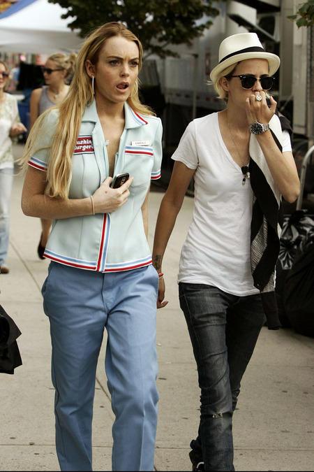 Lindsay Lohan and Samantah Ronson Stunning Pic