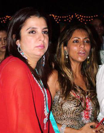 Gauri Khan Glamour Face Look With Farah