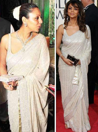 Gauri Khan Glamour Still In Saree
