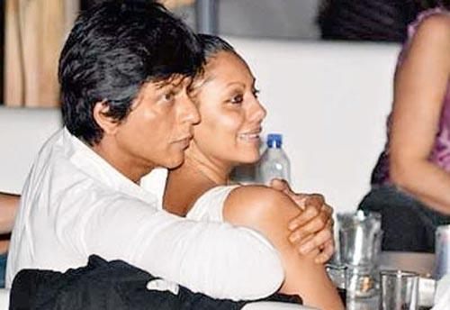 Srk and Gauri Glamour Still