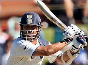 Sachin Batting Stills In Test Cricket Match