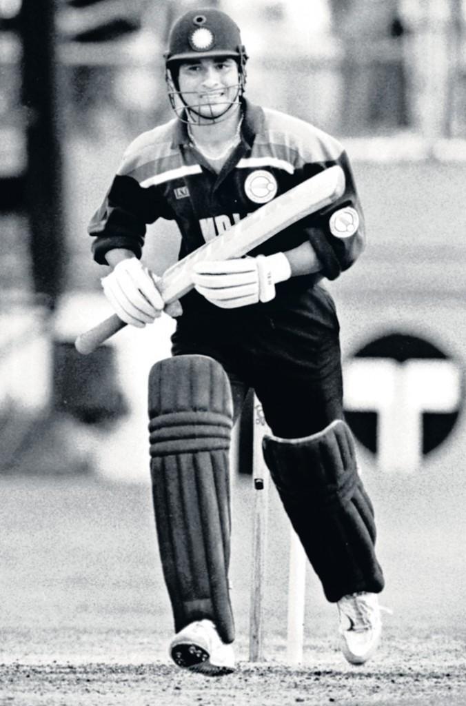 Sachin First Cricket World Cup Against Australia In Brisbane