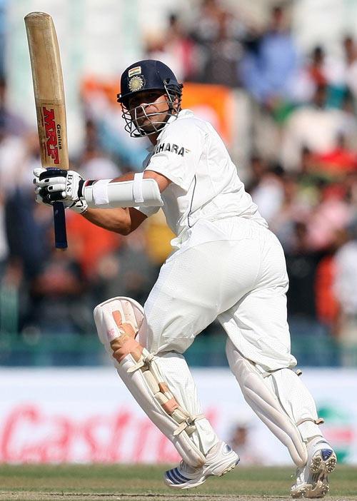 Sachin Running For Score