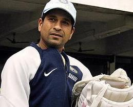 Sachin Smiling Face Look