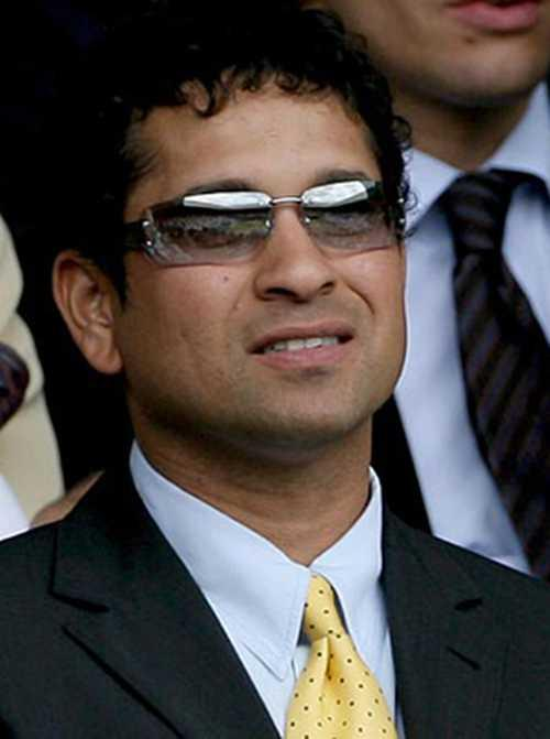 Sachin Wearing Goggles Nice Pic