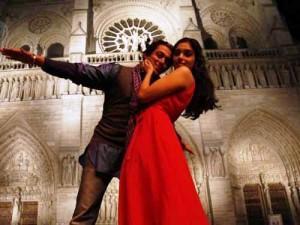Salman And Asin Dancing Pics In London Dreams