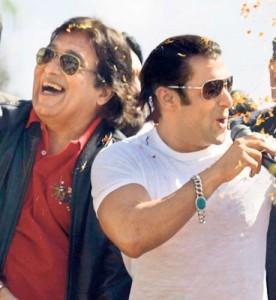Vinod Khanna With Salman Smiling Pic