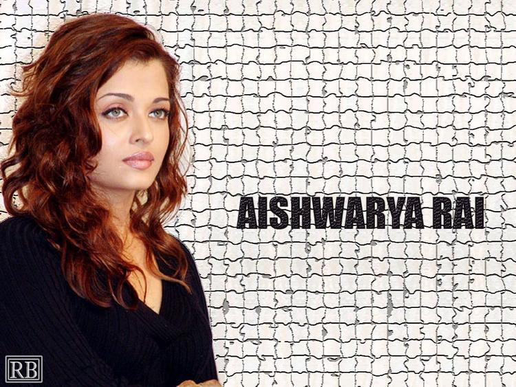 Aishwarya Rai In Brown Hair Nice Look Wallpaper
