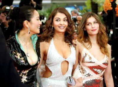 Gong Li,Aishwarya Rai and Laetitia Casta At Cannes