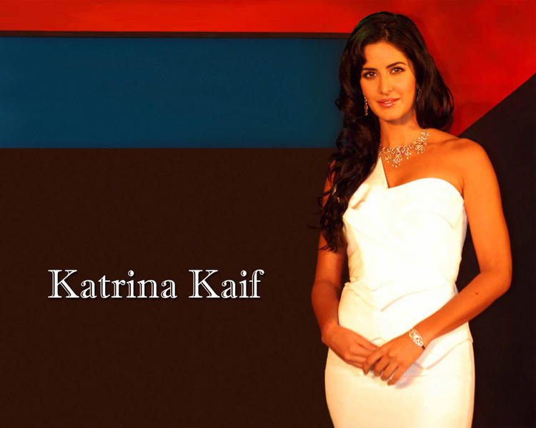 Katrina Kaif Gorgeous Wallpaper In White Dress