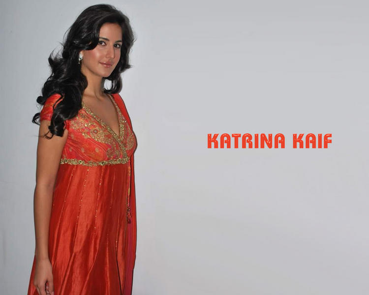 Katrina Kaif Simple Look Wallpaper In Simple Dress