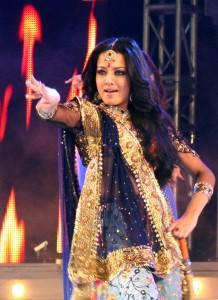 Celina Jaitley Hot Performance Still