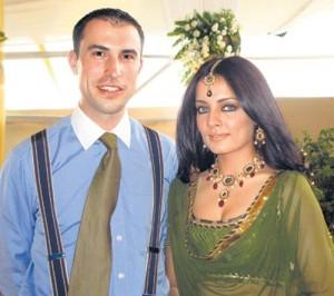 Celina Jaitley With Husband Peter