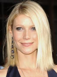 Gwyneth Paltrow White Stunning Hair Pic