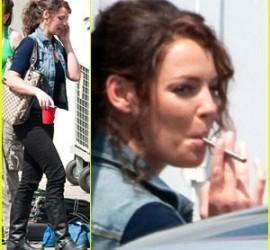 Miley Cyrus Cigarette Smoking Pic