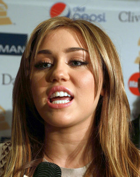 Miley Cyrus Cute Expression Still