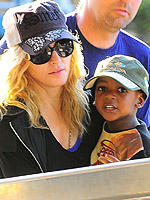 Madonna With Adopted Baby