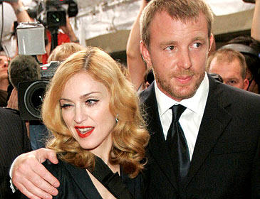 Madonna and Guy Rithie Cute Stunning Pic