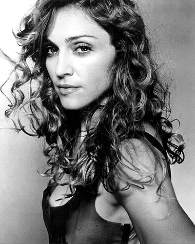 Madonna Curly Hair Sexy Photo