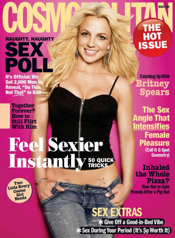 Britney Spears Cosmopolitan Magazine Still