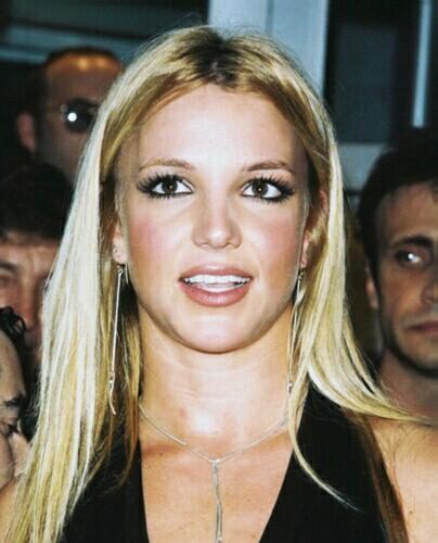 Britney Spears Glamour Face Still