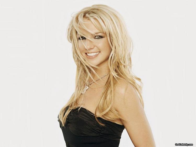 Cute Babe Britney Spears Lovely Still