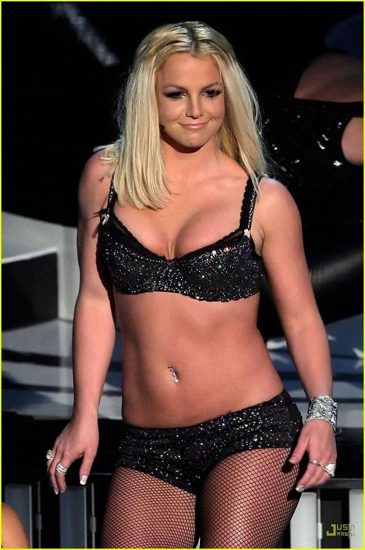 Hot Britney Spears Wet Outfit Still In Black Bikini