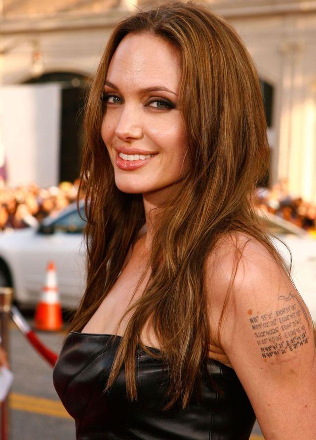 Angelina Jolie Cute Smiley Face Still