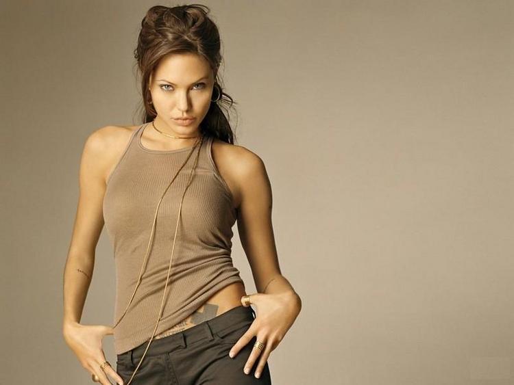 Angelina Jolie Hot Look Pic