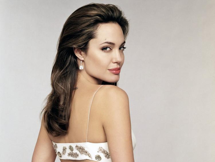 Angelina Jolie Red Lips Sexy Still
