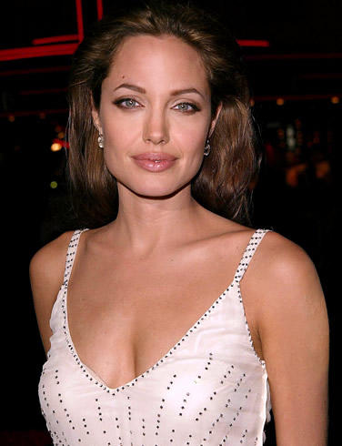 Angelina Jolie Sweet Smile Pic