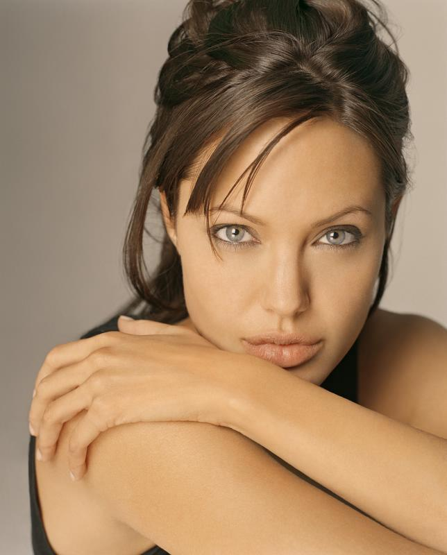 Green Eyed Beauty Angelina Jolie Still