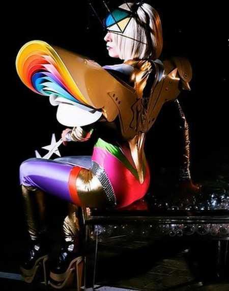 Billboard Rising Star Lady Gaga Pic