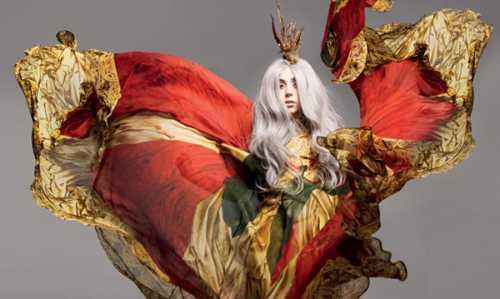 Hot Celebrity Lady Gaga Latest Still