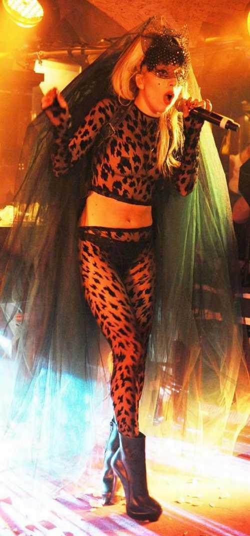Sexy Singer Lady Gaga hot Performance Still