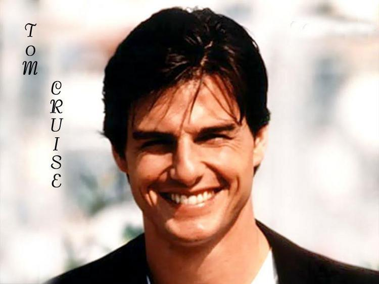 Tom Cruise Cute Smiling Photo