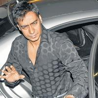 Ajay Devgan Stunning Face Still