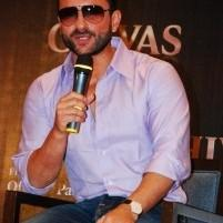 Saif Seen At The Chivas Regal Press Conference